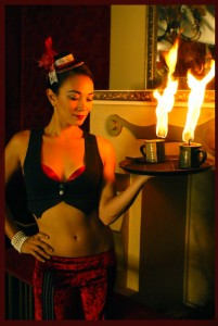 KJ as Flambé